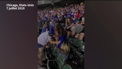 Violente bagarre entre supportrices à Chicago