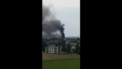 Brand in Deisswil