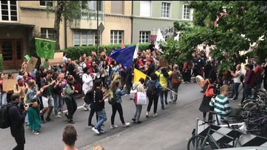 Amazonas-Demo in Bern