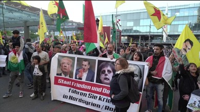 Kurden-Demo in Bern