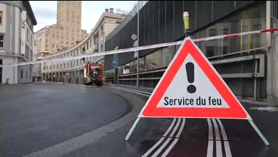 L'incendie d'une locomotive du LEB paralyse la place de l'Europe