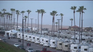 USA: patients isolés dans des camping-cars en bord de mer